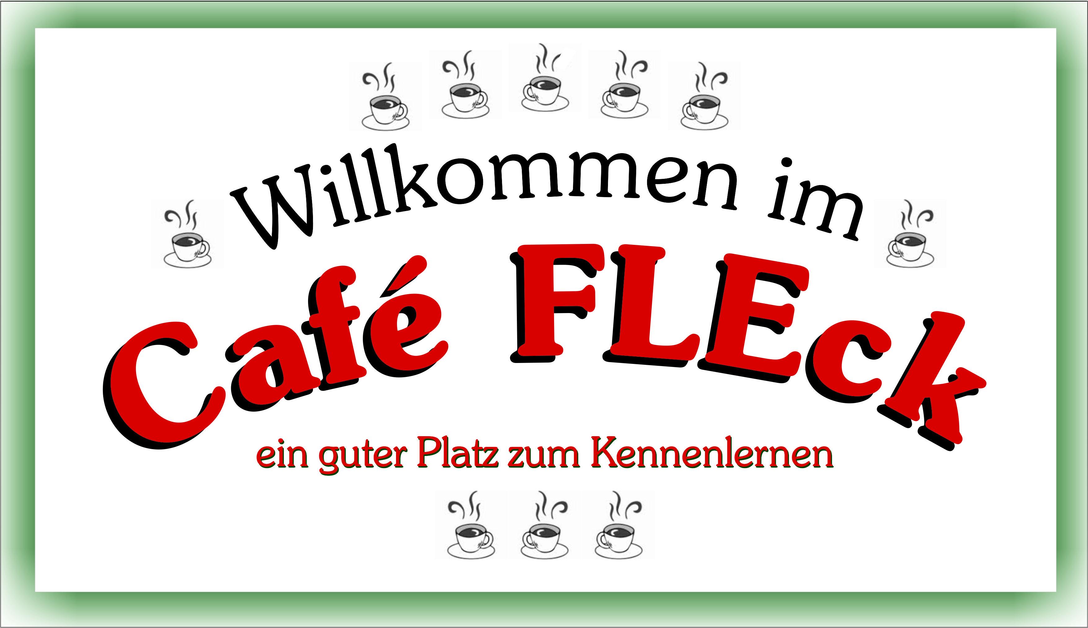 cafés und treffpunkte – flüchtlingsinitiative eckental fleck e.v., Einladung
